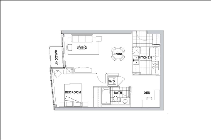 Toronto harbourfront condos for sale rent elizabeth for 5 mariner terrace floor plan