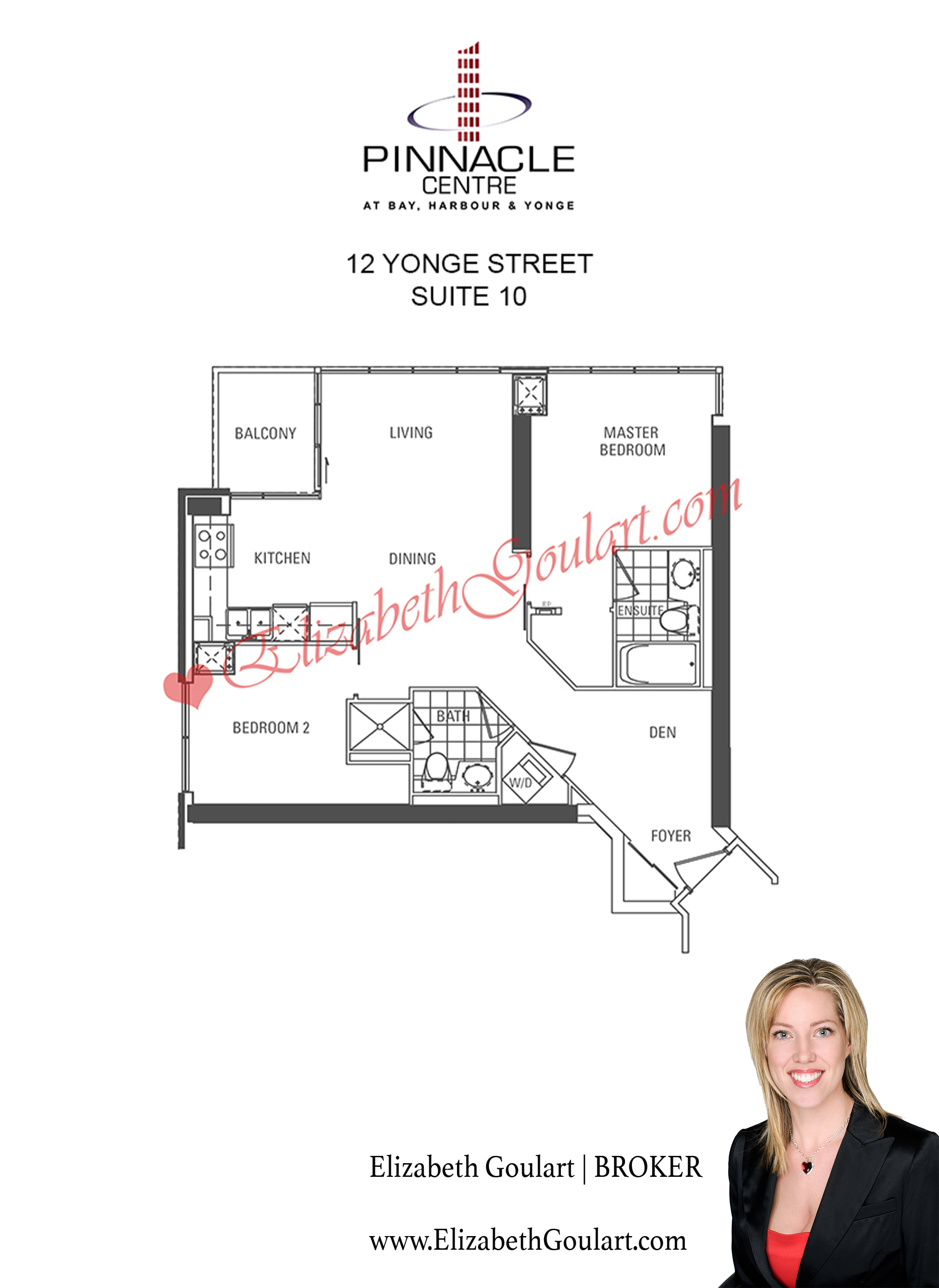 12 yonge street pinnacle centre condos floor plans