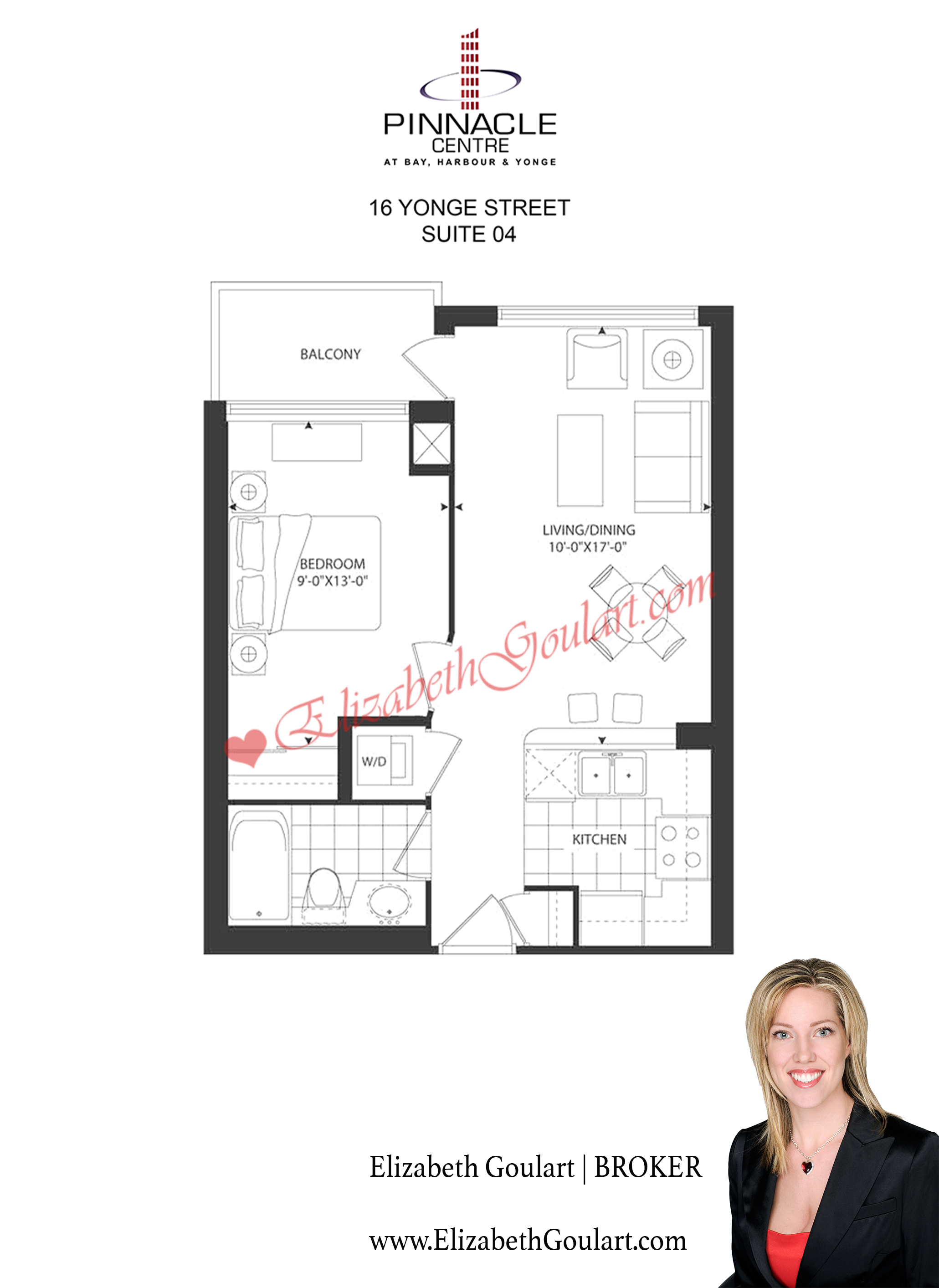 16 yonge street pinnacle centre condos floor plans