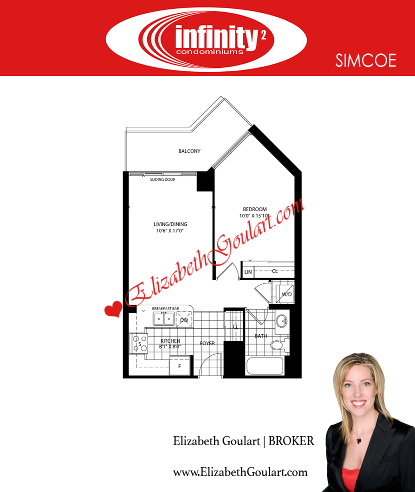 Infinity condos 19 30 grand trunk 25 51 lower simcoe for 126 simcoe floor plan