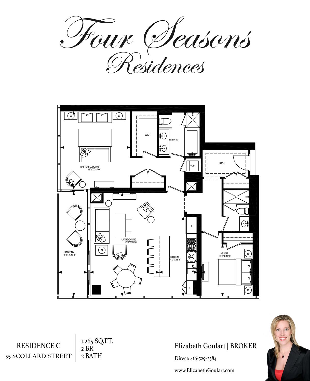 55 Scollard Street Four Seasons Residences Toronto For Sale Rent Elizabeth Goulart Broker